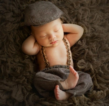 Newborn Baby Boy Set 'Charleston' 2-teilig