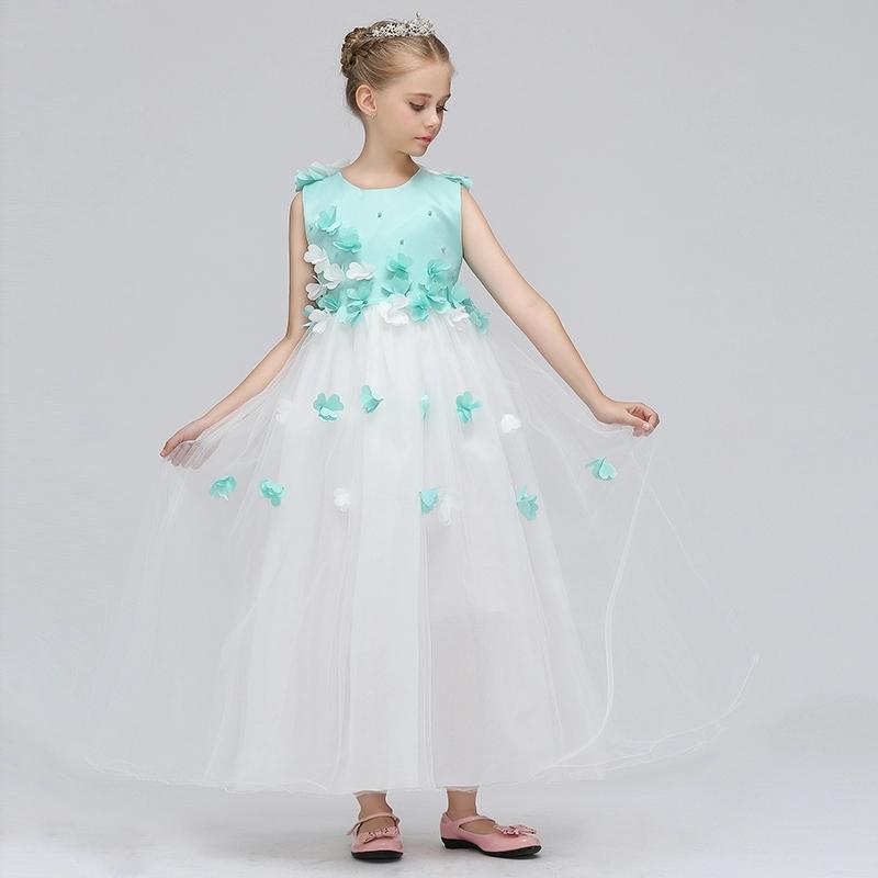 schnelle Farbe neueste trends von 2019 100% Qualität Festmode für Kinder, Festliches Kleid für Mädchen, Bohemian ...